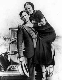 Бонни и ее Клайд. Криминальная история любви