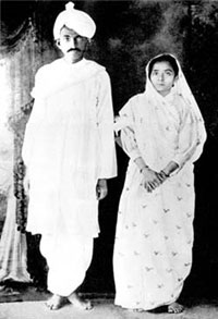 Ганди и Кастурбай. История любви