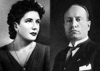 Бенито Муссолини и Кларетта Петаччи. История любви