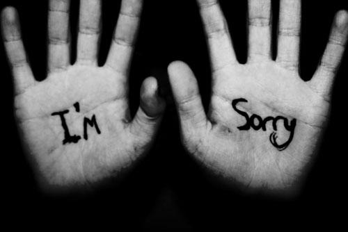 I,m Sorry на ладонях