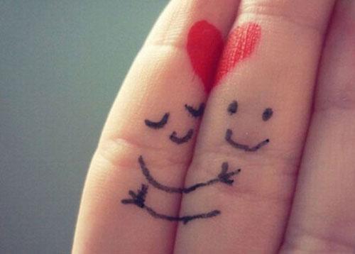 Любовь между пальцев