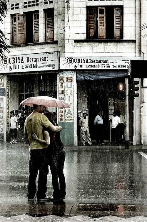 Есть ли любовь под дождем?