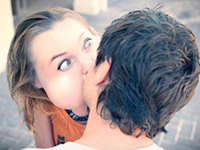О поцелуе с юмором
