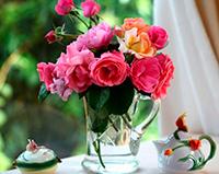 Стихи к подарку цветы, букет цветов