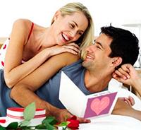Признание в любви на День Святого Валентина