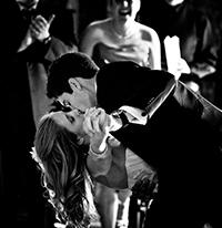 Поцелуй в танце