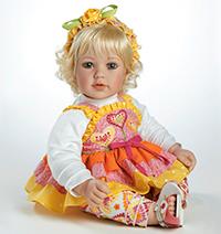 Стихи к подарку кукла, стихи про куклу