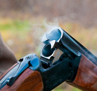 Если ружье случайно выстрелило