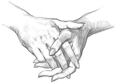 Моя рука в твоей руке