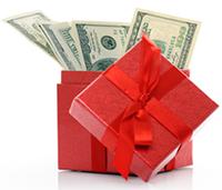 Стихи к подарку деньги