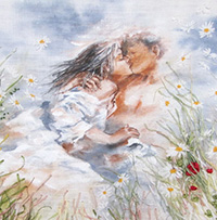 Пословицы о поцелуе