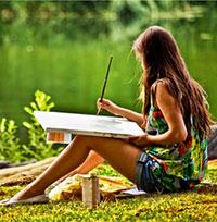 Стихи о художнике, художниках