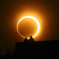 Стихи про солнечное затмение