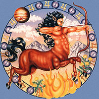 Стихи про Стрелец - знак зодиака