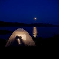 Ночь дарит рай в шалаше