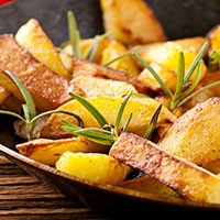 Стихи про жареную картошку