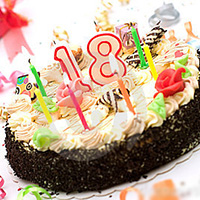 Поздравления на 18 лет, с восемнадцатилетием, с совершеннолетием