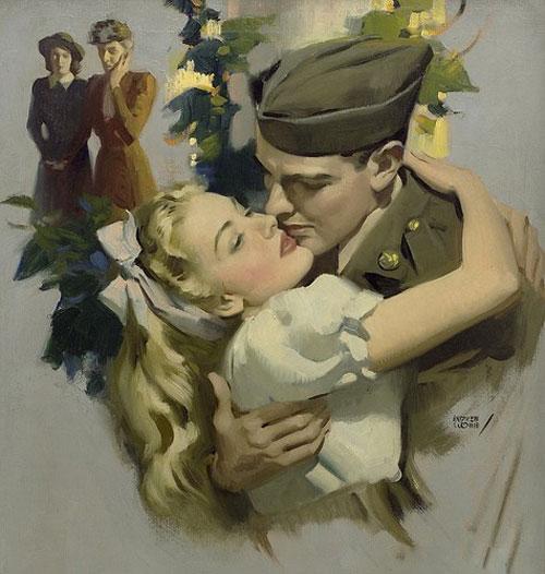 Солдатская любовь