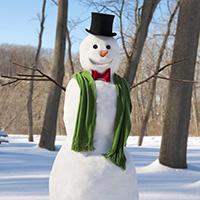 Стихи про снеговика, снежную бабу