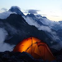 Стихи о палатке