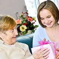 Поздравления с Днем Рождения бабушке от внучки
