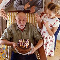 Поздравления с Днем Рождения дедушке от внучки