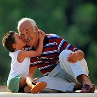 Поздравления с Днем Рождения дедушке от внука