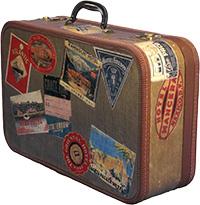 Стихи про чемодан