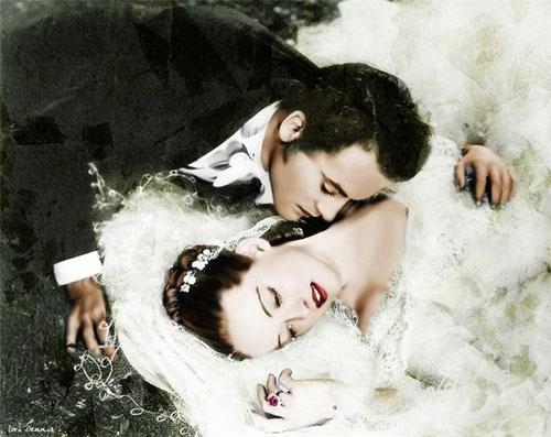 В свадебной неге