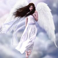 А ты знаешь, у ангелов белые крылья