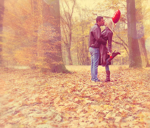 В осеннем лесу любви
