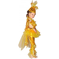 Стихи к костюму Золотая рыбка