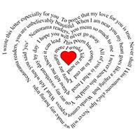 Каждый стих - дитя любви
