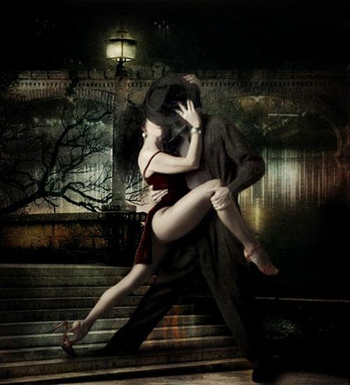 Любовь - это пламенное танго