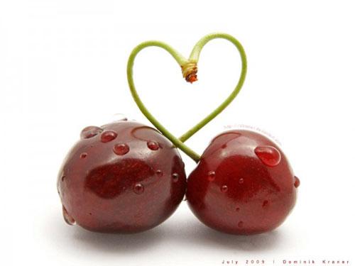 Черешневое сердечко