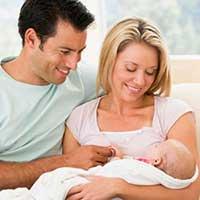 Освоение супругами родительских ролей