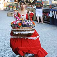 Стихи о продавщице цветов, цветочнице