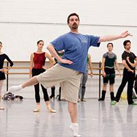 Стихи о хореографе, учителе танцев