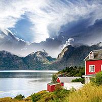 Отдых в Норвегии - стихи