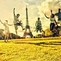 Отдых во Франции — стихи