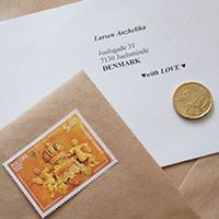Стихи о почтовых марки