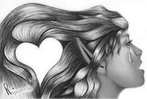 Моя любовь запуталась в твоих волосах