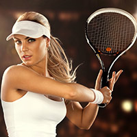 Стихи о теннисистах, теннисистках