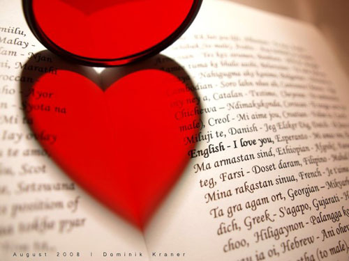 Любовь на разных языках