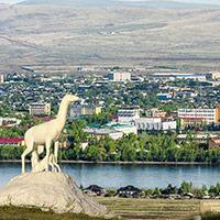 Стихи о городе Кызыл