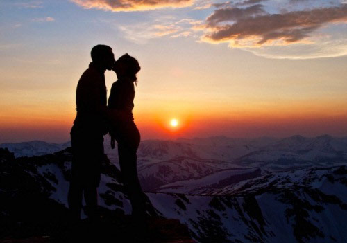 Поцелуй на вершине мира