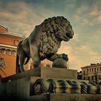 Стихи о Львах Петербурга