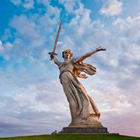 Стихи о монументе Родина-мать