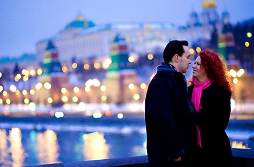 Мы встретились в Москве
