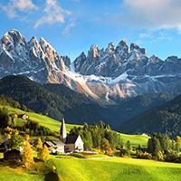 Стихи про Альпы